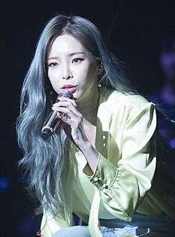 Heize at Zion.T X Heize Concert on April 21, 2018 (4) (cropped).jpg
