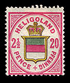 Helgoland 1876 18 Landeswappen mit Krone.jpg