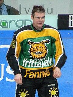 Raimo Helminen Finnish ice hockey player