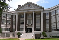 The Henderson County Courthouse in Athens