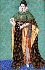 Portret Henryka III Walezego w stroju orderowym Orderu Ducha Świętego