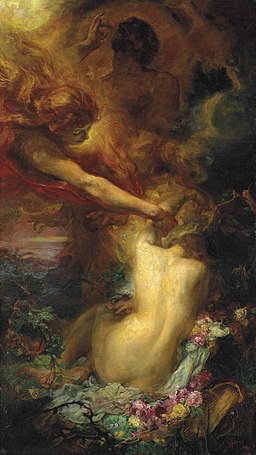 Henry John Stock - The Uplifting of Psyche