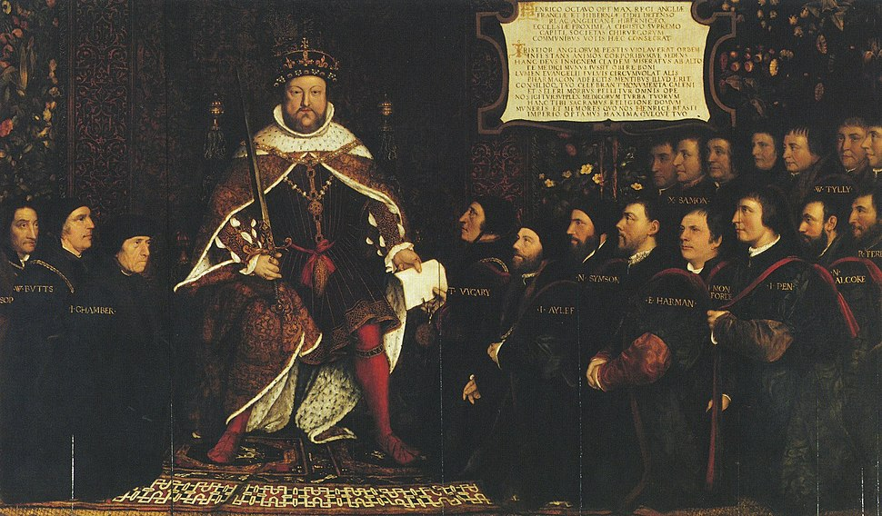 Henry VIII and the Barber Surgeons, by Hans Holbein the Younger, Richard Greenbury, and others