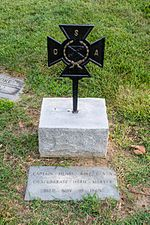 Henry Wirz grave section 27 - Mt Olivet - Washington DC - 2014.jpg