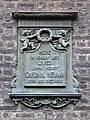 Here in early life lived John Henry Cardinal Newman Born 1801 Died 1890.jpg