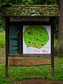 Hessen-Forst Hinweisschild Alte Fasanerie Klein-Auheim Juni 2012.JPG