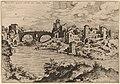 Hieronymus Cock, View of the Ponte Quattro Capi and the Island of the Tiber, 1550, NGA 91330.jpg