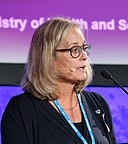 High-level conference on e-health Health in the digital society The digital society for health Agneta Karlsson (37493657100) (cropped).jpg