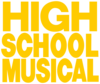 High School Musical Text Logo
