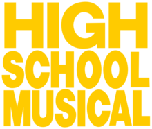 Description de l'image High School Musical Text Logo.png.