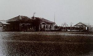 Hiratsuka Station - Hiratsuka Station in the early 20th century