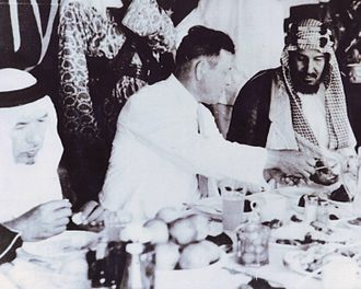 Ibn Saud - Ibn Saud in 1934