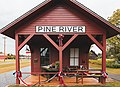 Historic Pine River Depot, Minnesota (43567111501).jpg