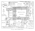 Historical plan of Trinity Hall, Cambridge (1897) - cambridgedescri00atkiuoft 0425.png