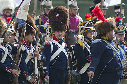 Historical reenactment of 1812 battle near Borodino, 2011 Historical reenactment of 1812 battle near Borodino 2011 1.jpg