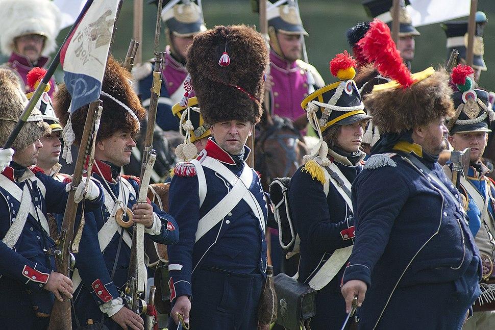 Historical reenactment of 1812 battle near Borodino 2011 1
