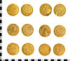 6 gold coins discovered in 2010
