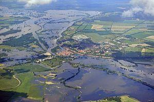 2013 European floods - Image: Hochwasser Elbe 2013 06 10