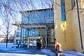 Hogskolan i Skövde - Main entrance winter 2011.jpg