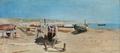 Holger Jerichau - Kvinder på stranden i Porto D'Anzio - 1883.png