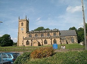 Rothwell, West Yorkshire - Holy Trinity Church in Rothwell.