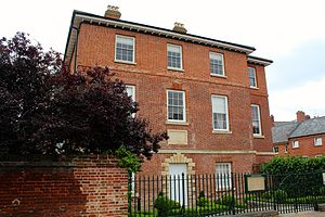 Palace House - Part of Palace House in Newmarket, Suffolk, UK