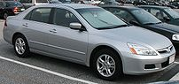 2006 Honda Accord photographed in USA. Category:Honda Accord (2002, North America)