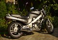 Honda NTV650 Motorcycle (1990) Right Side (14584688360).png