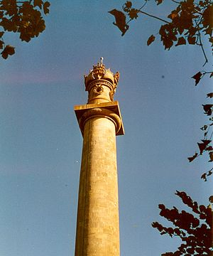 Sir Samuel Hood, 1st Baronet - Admiral Hood Monument