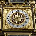 Horloge de Charles V - Le cadran de l'horloge du palais de la cité.jpg