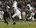 Horned Frogs on offense at Air Force at TCU 2010-10-23.JPG