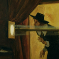 Horrocks observing the 1636 transit of Venus by Eyre Crowe.png