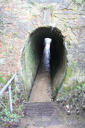 Cosgrove, Northamptonshire - Horse tunnel under the Grand Union Canal at Cosgrove