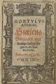 Hortvlvs animae Sjælens Urtegaard Danish 1552.png