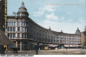 Danny Shay - Image: Hotel English 1909 Indianapolis