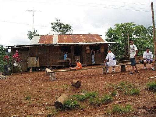 Huaorani village