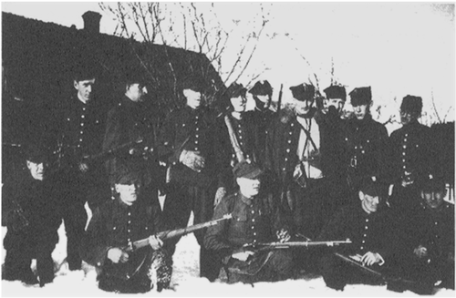"Earliest World War II partisan unit, commanded by Henryk ""Hubal"" Dobrzanski, winter 1939 Hubal3.png"
