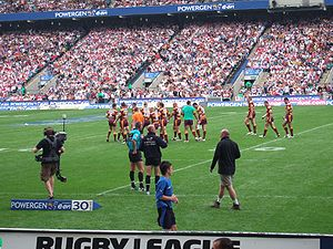 Huddersfield Giants - Huddersfield in the 2006 Challenge Cup Final