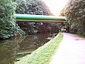 Huge pipes over the Leeds and Liverpool Canal - geograph.org.uk - 30855.jpg