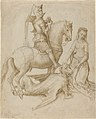 Hugo van der Goes - Saint George and the Dragon.jpg