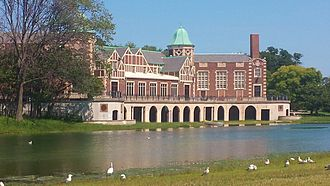 Humboldt Park (Chicago park) - Humboldt Park Field House and Refectory.