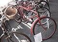 Hungarian WWII military bicycle, Balassagyarmat.jpg