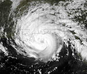Climate of Alabama - Hurricane Frederic, a major hurricane which struck Alabama in September 1979