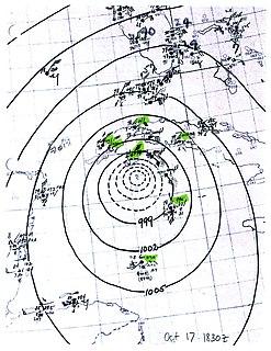 1944 Cuba–Florida hurricane Category3 Atlantic hurricane in 1944