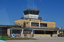 Hutchinson Municipal Airport Hutchinson Kansas 9-14-2014.JPG