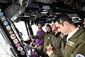 IDF Officers visit Supercarrier USS George H. W. Bush (CVN 77) (32522341980).jpg