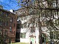 III. Heidelberg Altstadt Campus Universität Heidelberg Haus zum Riesen Hof und Gartenseite Anatomiegarten.JPG