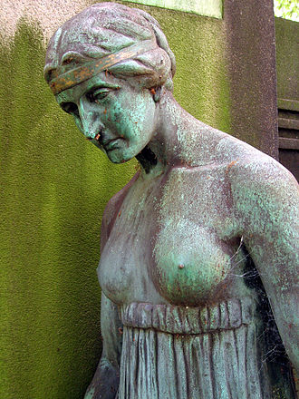 Benno Elkan - Bronze figure, Dortmund