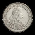 INC-795-a Талер Регенсбург император Франц I 1756 г. (аверс).png