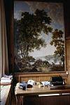 interieur, kamer, wandschilderingen (behangsels), paneel - amsterdam - 20260007 - rce